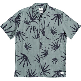 Quiksilver Deli Palm SS Shirt Men chinois green deli palm